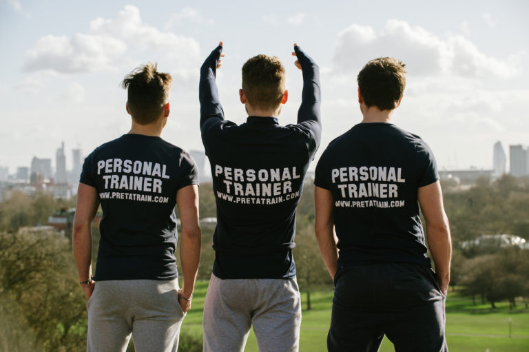 Personal trainers in Putney Pret-a-Train team back